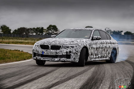 New 2018 BMW M5 on the Way: Here's a First Preview