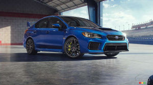 Pricing Announced for 2018 Subaru WRX STI; Choose your Spoiler!