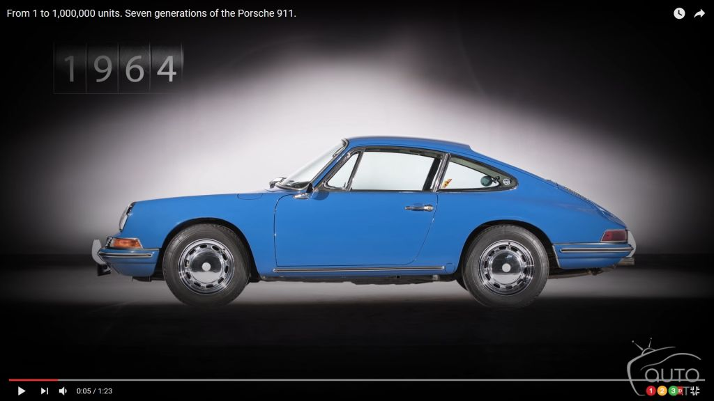 See How the Porsche 911 Has Evolved Over 7 Generations