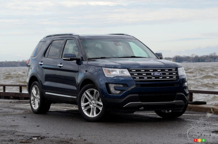 2017 Ford Explorer Does Just Fine on 4 Cylinders