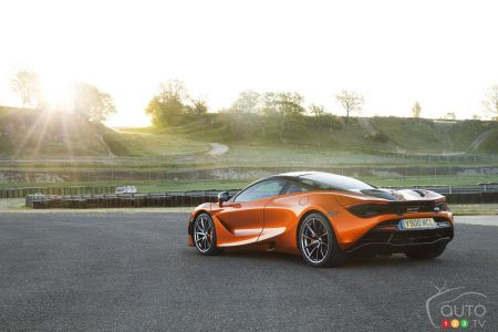McLaren 720S Makes 1st North American Appearance at Amelia Island