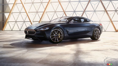 Concept for the Future BMW 8 Series Unveiled