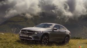 Follow the Mercedes-Benz GLC Coupe Through the Alps and Transylvania