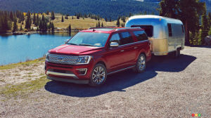2018 Ford Expedition Makes Towing Easy