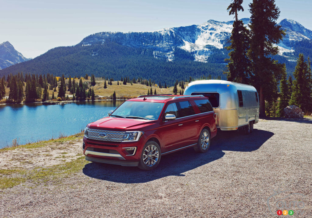 Le Ford Expedition 2018 facilite encore plus le remorquage