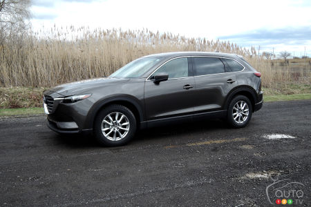 Fall, Winter and Spring in the 2017 Mazda CX-9