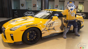 Nissan Designs and Donates Nashville Predators-themed GT-R