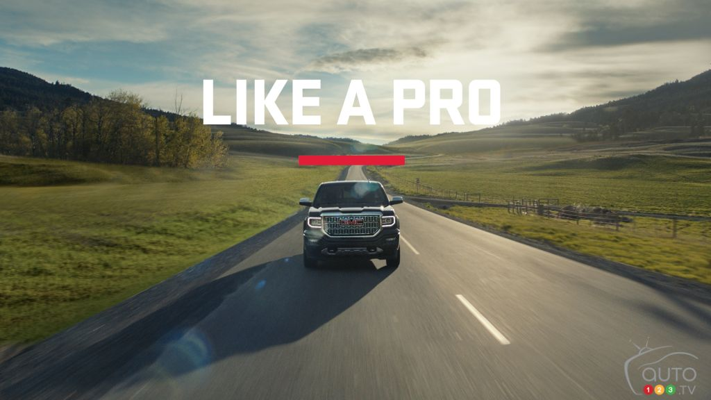 "Feel ""Like a Pro"" With GMC"