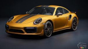 Porsche 911 Turbo S Exclusive Series: A Rare Gem