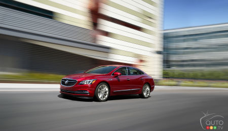 Buick LaCrosse a Hybrid Once Again for 2018