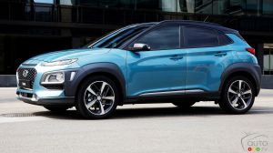 Hyundai Kona Set for Canada in Early 2018; Electric Version to Follow