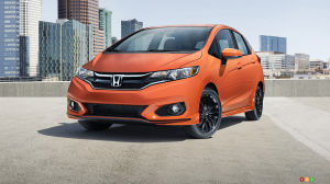 New 2018 Honda Fit Now on Sale in Canada