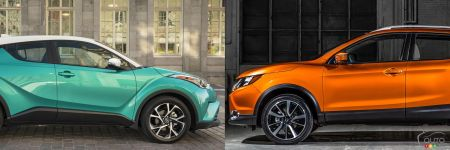 2018 Toyota C-HR vs 2017 Nissan Qashqai: What to Buy?