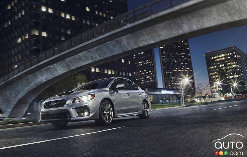Subaru models 2018