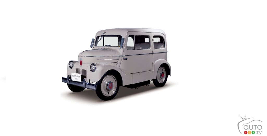 Connecting the Future Nissan LEAF to the 1947 Tama Electric Car