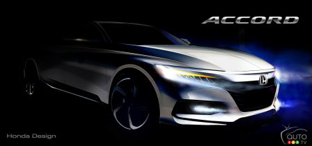 2018 Honda Accord: Promising-Looking Concept Sketch