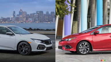 2017 Honda Civic Hatchback vs 2017 Toyota Corolla iM: What to Buy?
