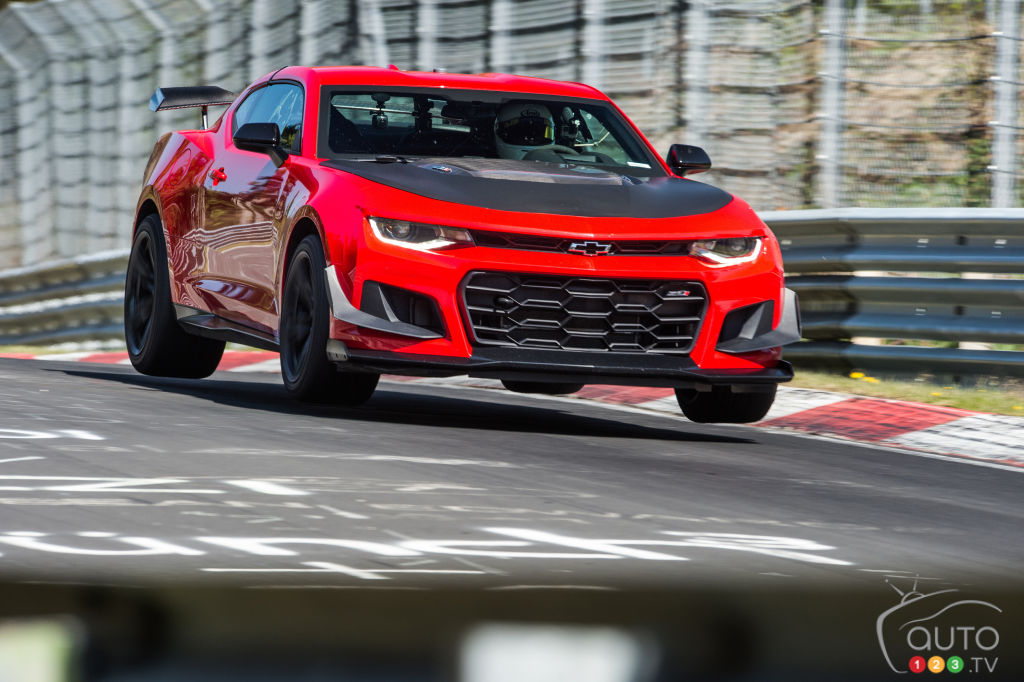 2018 Chevrolet Camaro ZL1 1LE Just Became the Fastest Camaro at Nürburgring