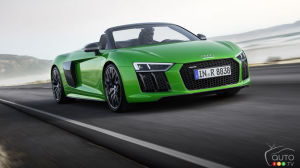 Audi R8 Spyder V10 Plus Roars, Makes Beautiful Haste!