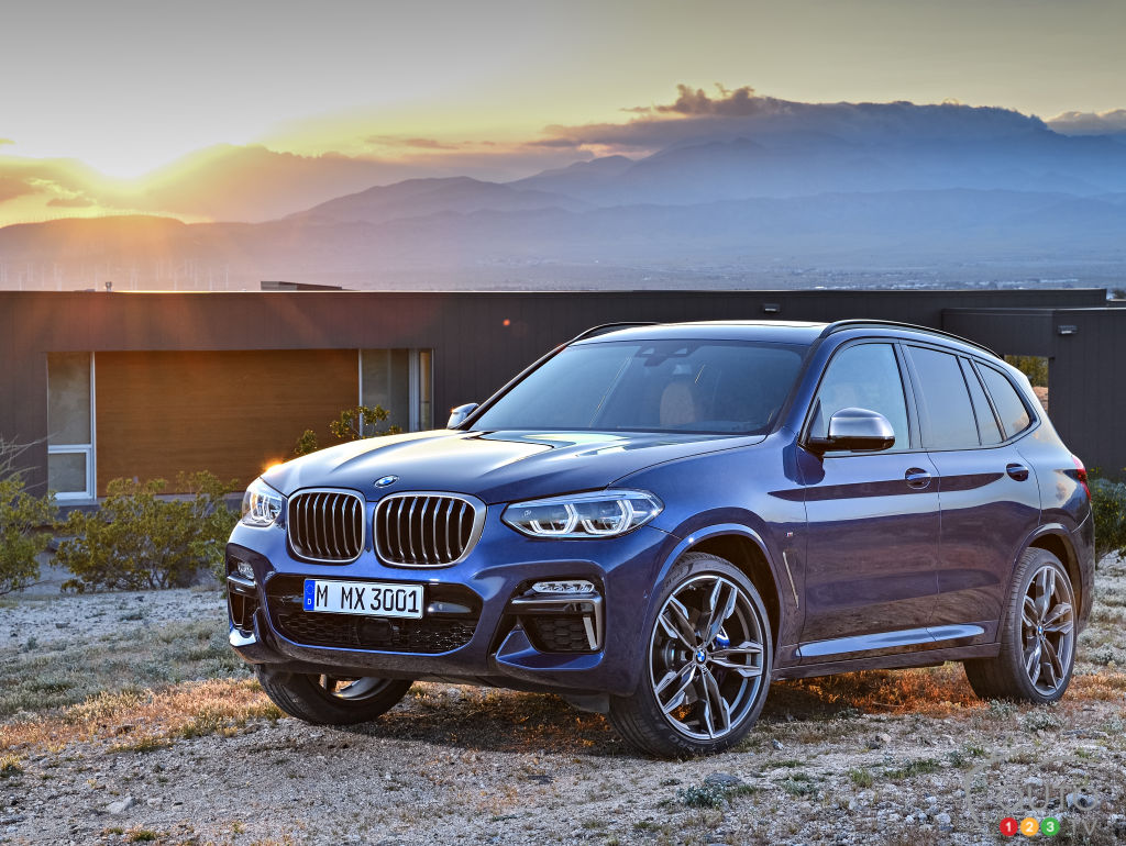 The Next Generation Bmw X3 In Photos And Videos