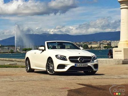 2018 Mercedes-Benz E-Class Cabriolet Review Coming Soon