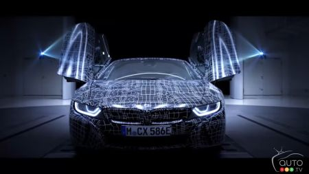 A BMW i8 Roadster is Coming in 2018