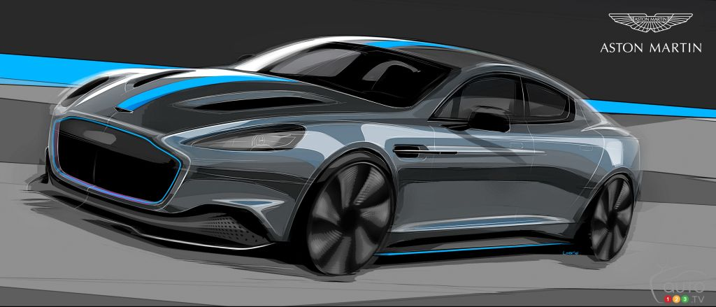 First Electric Aston Martin to Arrive in 2019