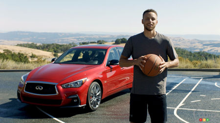 INFINITI Teams up With NBA Superstar Steph Curry