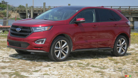 Our 3,700km trip at the wheel of the 2017 Ford Edge Sport