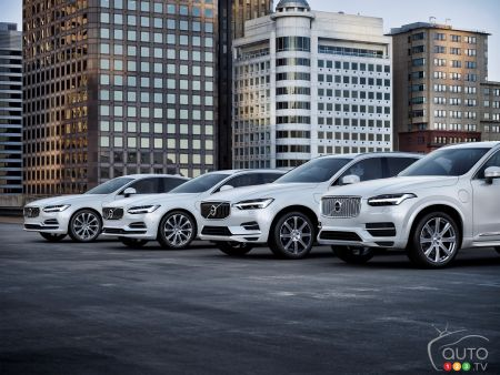 Volvo to Sell Only Electrified Cars as of 2019