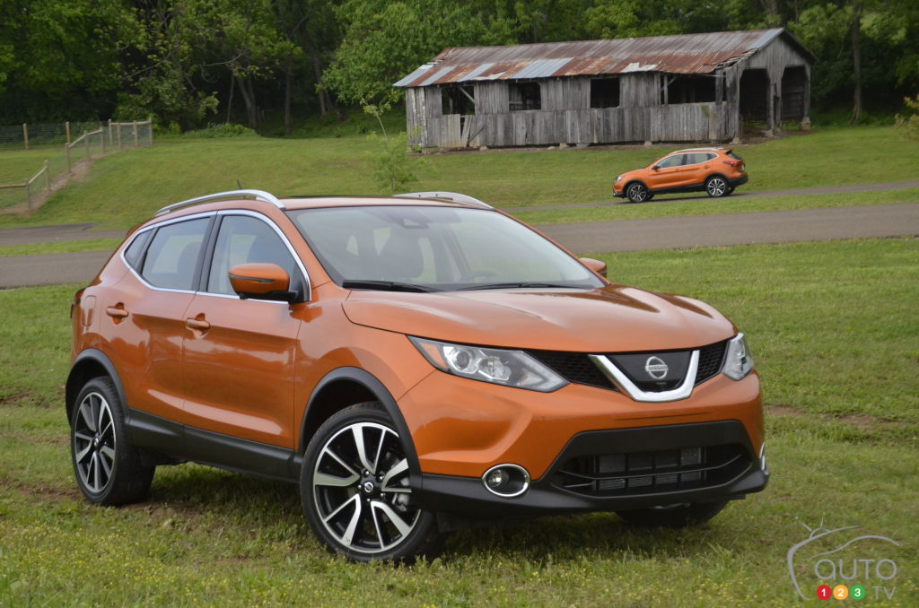 2017 Nissan Qashqai Has All the Makings of a Winner