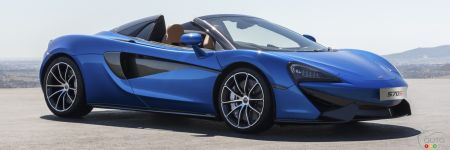 All-New McLaren 570S Spider Finally Makes World Debut