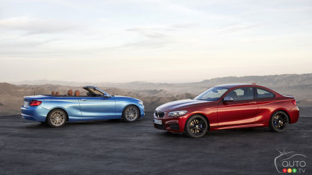 Close-Up of the New 2018 BMW 2 Series Coupe and Cabriolet
