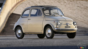 Fiat 500 Lands in a Museum, on a Stamp and in a Short Film for its 60th Anniversary