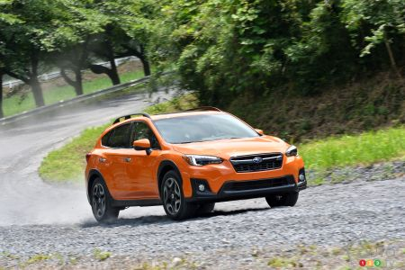 Exclusive: Our Test Drive of the 2018 Subaru Crosstrek in Japan