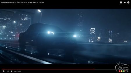 Mercedes-Benz Pickup to be Revealed July 18; Watch This Teaser