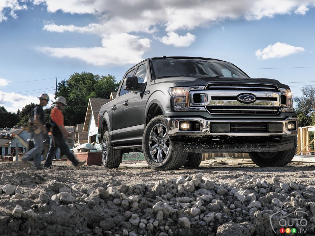 The new 2018 Ford F-150