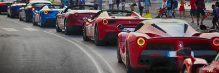 6th Ferrari Cavalcade Was Quite a Sight to Behold