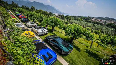 2017 Lamborghini Italian Tour Was a Real Delight; Check This Out!