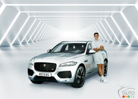 Milos Raonic Loses at Wimbledon, But Wins With Jaguar!