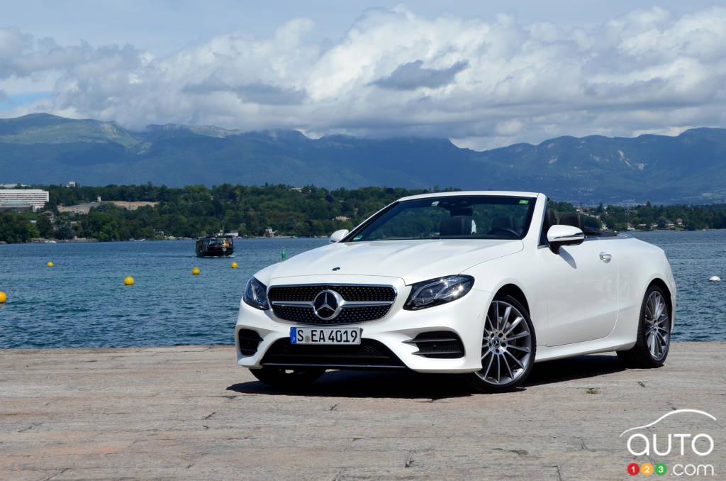 Mercedes-Benz E-Class: Important safety notes