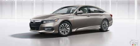 Honda Accord Hybrid is Also New for 2018