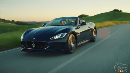 From Modena to the Mediterranean Sea in a Maserati