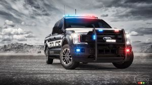 Ford F-150 Police Truck Ready to Impose Law and Order On and Off the Road