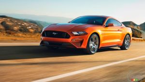 60 mph in under 4 Seconds for 2018 Ford Mustang GT