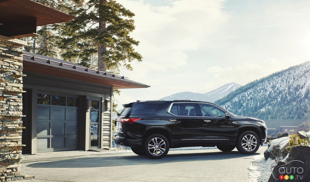 New 2018 Chevrolet Traverse to Sell for…