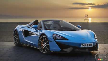 McLaren 570S Spider: Brand New Photos