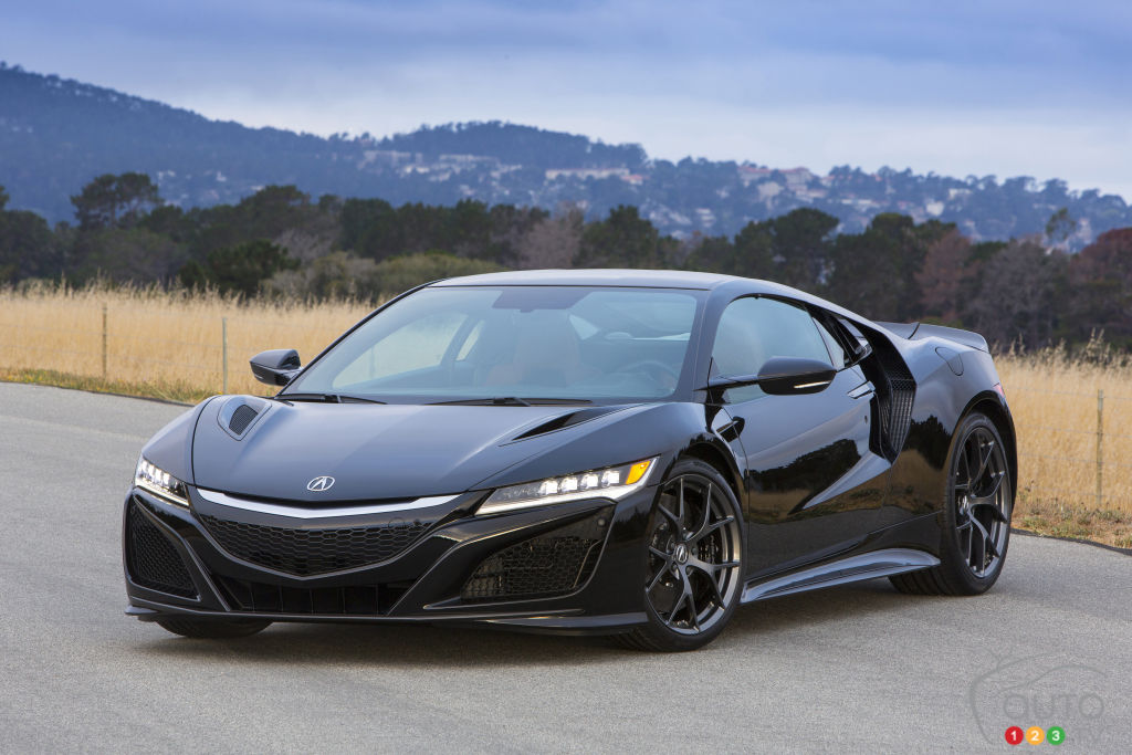 Elegant 2017 Acura NSX Is Clinically Engineered To Be Perfect