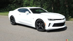2017 Chevrolet Camaro, a Pleasant 4-Cylinder Surprise