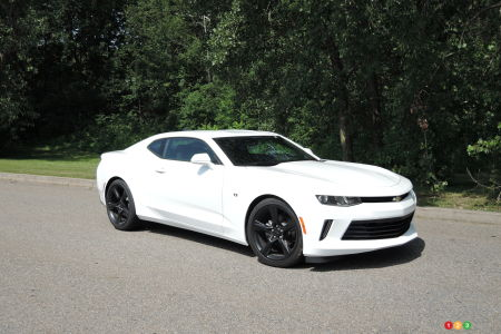 2017 Chevrolet Camaro A Pleasant 4 Cylinder Surprise